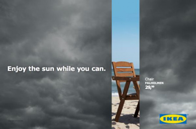 IKEA: Don't Miss the Summer, 2 Outdoor Advert by DDB Brussels