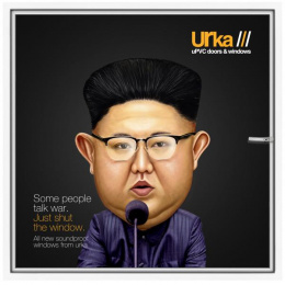 Urka: Kim Jong-Un Print Ad by Janrise India