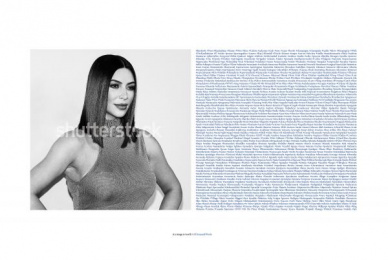 Shutterstock: Kim Print Ad by DDB Bogota