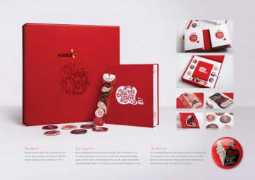 Yoplait: The Book of Joy Direct marketing by The Classic Partnership Advertising Dubai