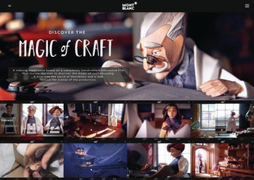 MONTBLANC: Discover The Magic Of Craft [image] Film by Salon Alpin, Scholz & Friends Berlin