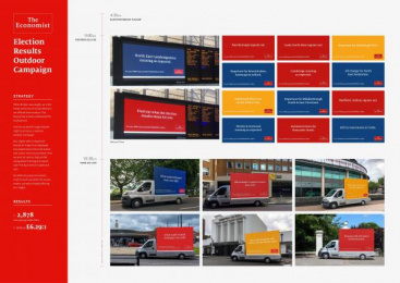 The Economist: Election Campaign [image] 2 Outdoor Advert by Proximity London
