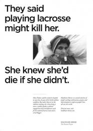 Havas: Healthcare Heroes, 2 Print Ad by Havas Lynx Manchester