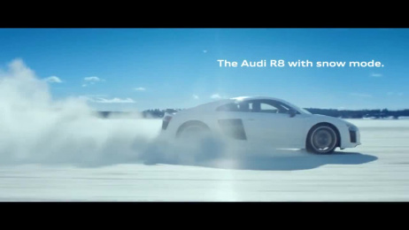 Audi R8: Snow Film by BBH London, Carnage