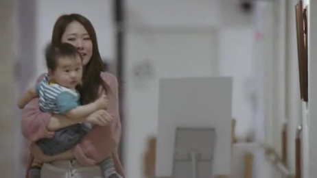 Pampers: Mom's First Birthday [alternative version] Film by Albuquerque Film, Beacon Communications Tokyo