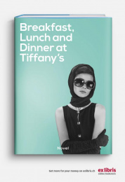 Ex Libris: Breakfast, Lunch And Dinner At Tiffany's Print Ad by Ruf Lanz