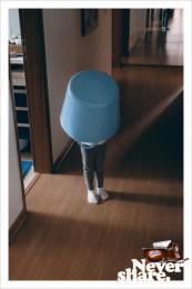 Danette: Blue Bucket Print Ad by Y&R Sao Paulo