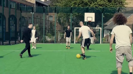 Pepsi Max: The Unbelievable Game Film by AMV BBDO London, Hsi