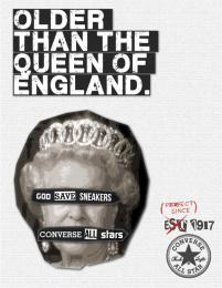 Converse: Queen Print Ad by Miami Ad School New York