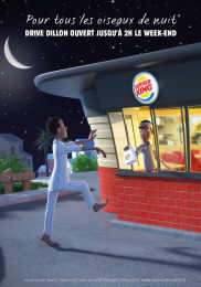 Burger King: Night Owls, 1 Print Ad by Corida