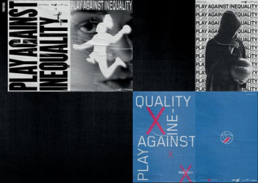 espnW: Inequality Balls  [image] 4 Design & Branding by Africa Sao Paulo