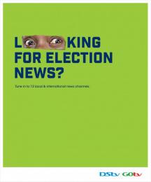 GOtv: GOtv Election News Print Ad by BBDOMediaedge Kenya