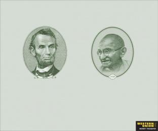 Western Union: DOLLAR Print Ad by McCann Erickson Mumbai