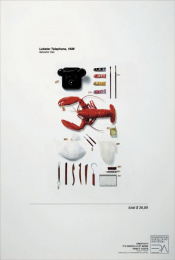 Panamericana - Art And Design School: Lobster Telephone Print Ad by ALMAP BBDO Brazil