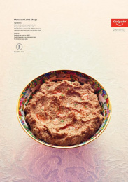 Colgate: Keep Your Teeth - MOROCCAN LAMB CHOPS Print Ad by Y&R Dubai