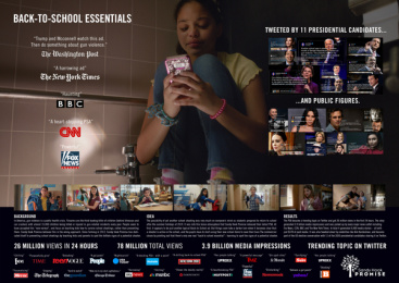 Sandy Hook Promise: Back to School Essentials - Case Image Case study by BBDO New York, Smuggler