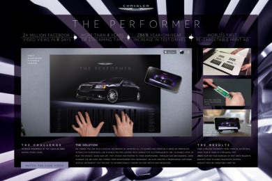 Chrysler 300c: THE PERFORMER, 1 Case study by Publicis Dubai