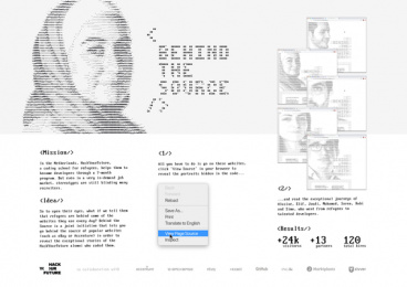 HackYourFuture: Behind The Source - Board Case study by 72andSunny Amsterdam, Hecho Studios