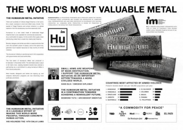 Humanium Metal: The Humanium Metal Initiative [image] 2 Design & Branding by Akestam.holst Stockholm, Great Works