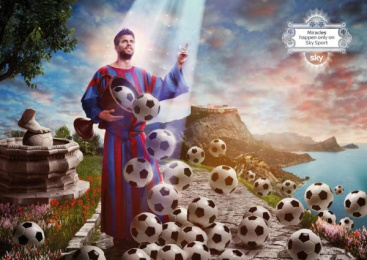 Sky Sports: PIQUE Print Ad by Grey United Milan