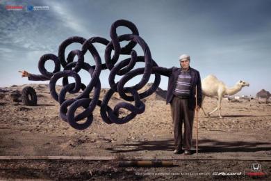 Honda: Confusing Arab Print Ad by ESTILO3D, Impact & Echo Kuwait