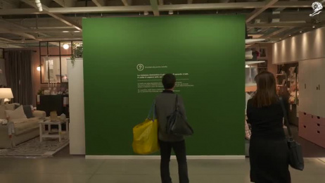 IKEA: IKEA Ambient Advert by STV DDB Milan