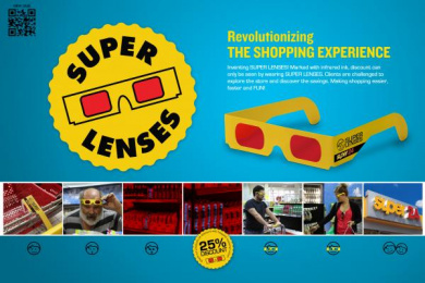Super 24: SUPER LENSES Outdoor Advert by Eco Y&R Guatemala