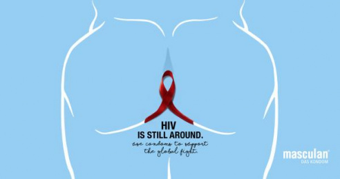 Masculan: HIV, 2 Print Ad by Mayd