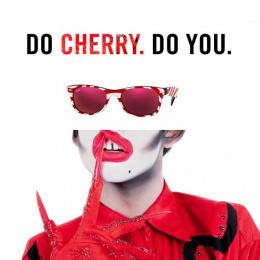 Ray-ban: Cherry Print Ad by RXM Creative New York
