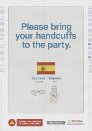 Toyota: Handcuffs Print Ad by Saatchi & Saatchi New Zealand