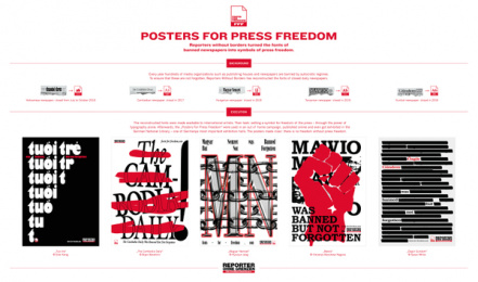 Reporters Without Borders: Posters For Press Freedom, 6 Print Ad by Serviceplan, Germany