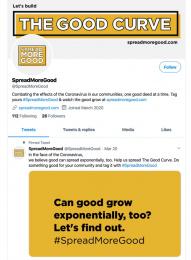 Mckinney: #SpreadMoreGood - The good curve Digital Advert by McKinney Durham