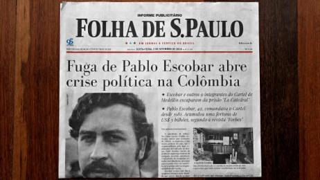 Netflix: Hunt on the News Print Ad by Akqa Sao Paulo