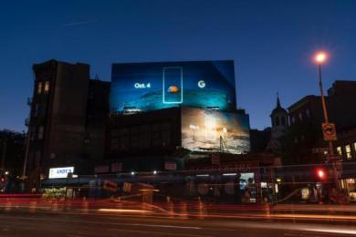 Google: Pixel, 3 Outdoor Advert by Droga5 New York