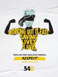 54Days: #NursesDay, 3 Digital Advert by Pico Adworks