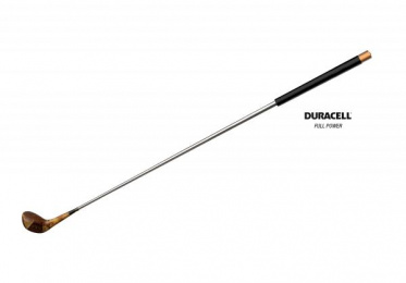 Duracell: Golf Print Ad by Muchimuchi