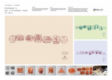 Tajawal: Tajawal Stamps Case study by J. Walter Thompson Dubai