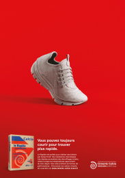 Ciments Calcia: Give character to your works, 1 Print Ad by Epoka