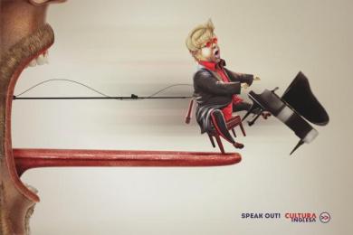 Cultura Inglesa: Elton Print Ad by Miami Ad School Rio de Janeiro