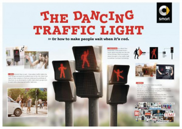 Smart: THE DANCING TRAFFIC LIGHT Case study by BBDO Germany