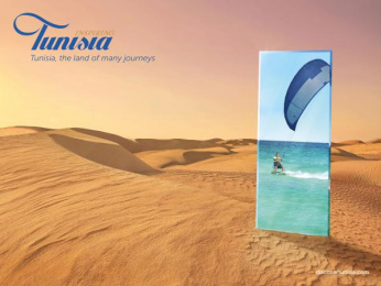 National Office Of The Tunisian Tourism (ONTT): Desert Print Ad by Leo Burnett Paris