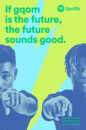 Spotify: Distruction Boyz Outdoor Advert
