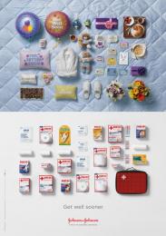 Johnson & Johnson: Get well Print Ad by BBDO New York