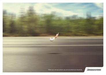 Bridgestone: Forest Print Ad by Plataforma Montevideo