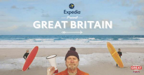 Expedia: The Only Place You Need To Go [image] Digital Advert by 180 LA