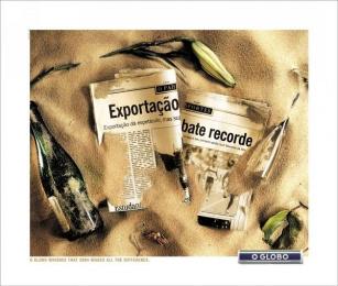 O Globo: GLASS Print Ad by FCB Sao Paulo