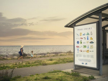 The West Coast Foundation: Fish Chart 2050, 2 Outdoor Advert by Stendahls