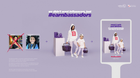 Velocity Frequent Flyer: The Earnbassadors, 6 Print Ad by CHE Proximity Australia