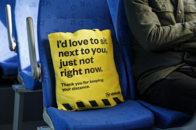 Västtrafik: No Douche Bag, 7 Print Ad by Forsman & Bodenfors, Sweden