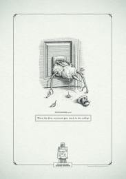 Gui Ling Yuan Fang Tea: Poophemisms - Snowman Print Ad by Y&R Johannesburg